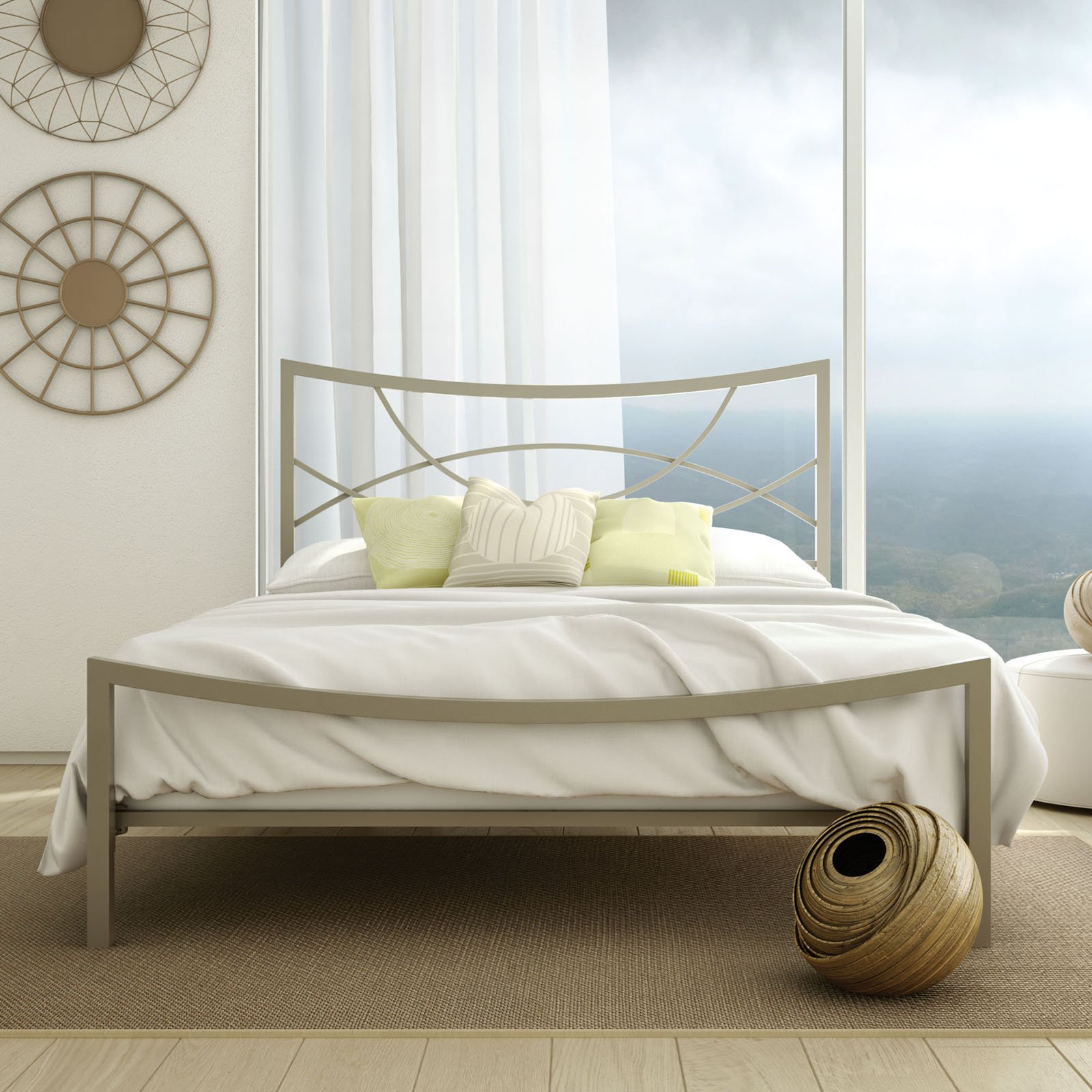Amisco Equinox Metal Bed