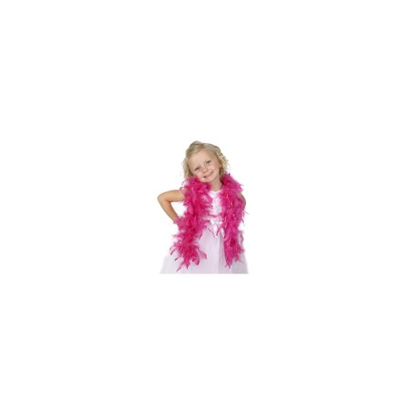 Zucker Feather Products Chandelle Feather Boas Princess w/Lurex - 1YD - Rasberry Sorbet - Opal Lurex - Opal Nyc Halloween