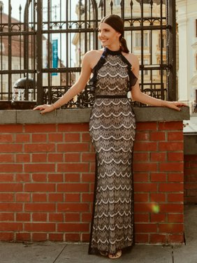 0e7d464e6d Product Image Ever-Pretty Womens Sexy Halter Lace Long Formal Evening  Cocktail Party Wedding Guest Maxi Dresses