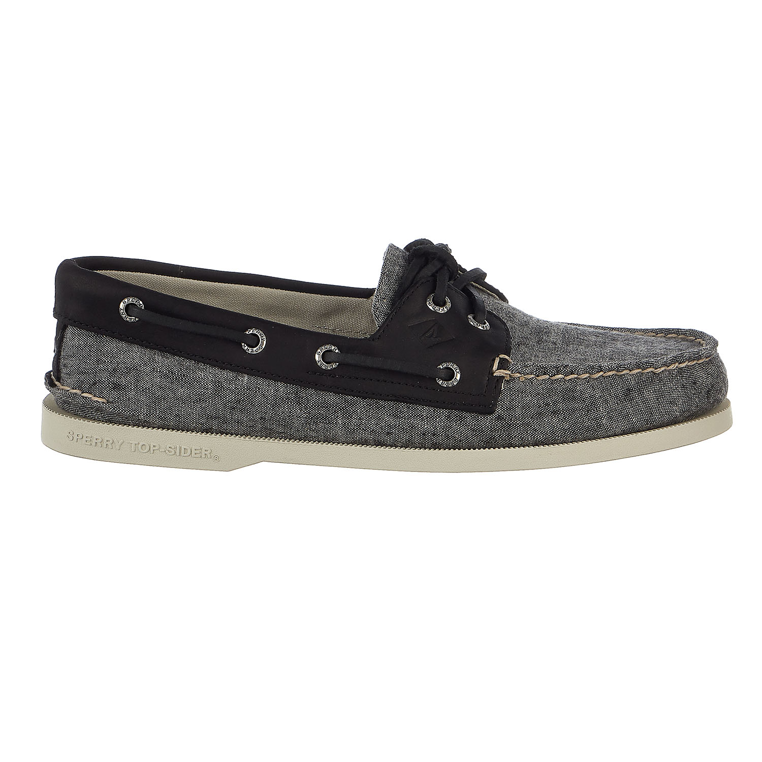 Sperry Top-Sider Authentic Original 2-Eye Linen Boat Shoe...
