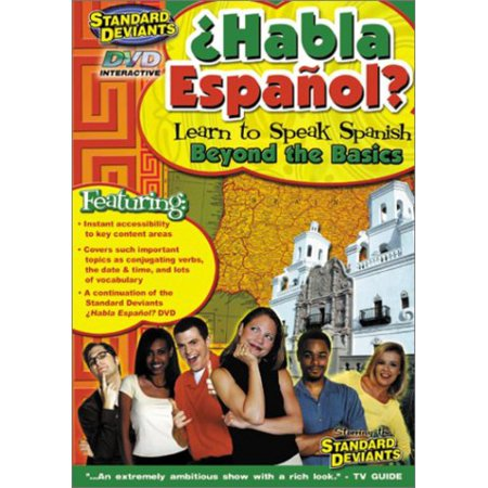 Image of Standard Deviants: Habla Espanol - Beyond The Basics
