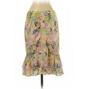 Pre-Owned Nanette Lepore Women's Size 2 Silk Skirt