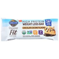 Garden Of Life Organic High Protein Weight Loss Bar, Chocolate Coconut Almond, 1.9 Oz, Pack Of 12