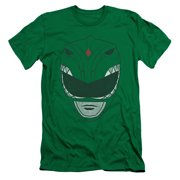Power Rangers - Green Ranger - Slim Fit Short Sleeve Shirt - Large