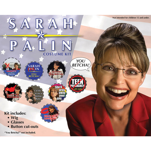 Governor Sarah Palin Kit Adult Halloween Accessory