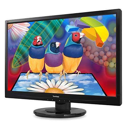 ViewSonic VA2246M-LED 22-Inch LED-Lit LCD Monitor Full HD 1080p DVI/VGA Speakers VESA
