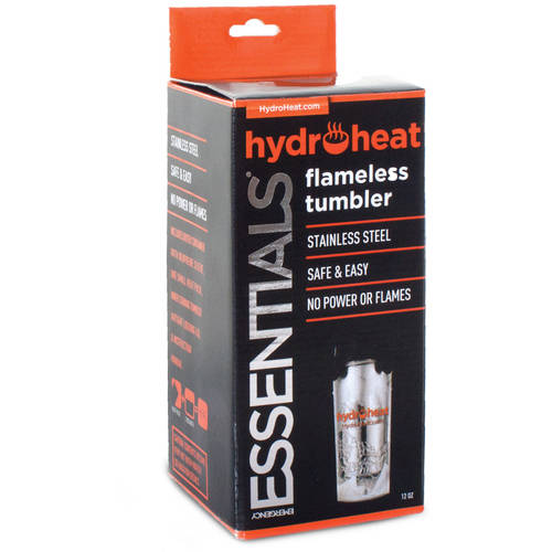 Emergency Essentials Emergency Surivival Hydroheat Flameless Heat Tumbler, 13.5 oz