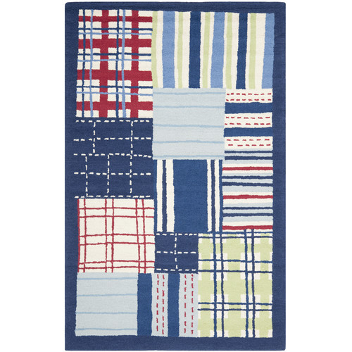 Safavieh Kids Blue & Red Area Rug