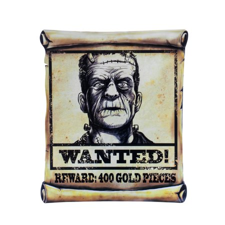 Wanted Poster Assortment Halloween Prop Decoration
