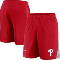 Philadelphia Phillies Nike Team Logo Franchise Shorts - Red