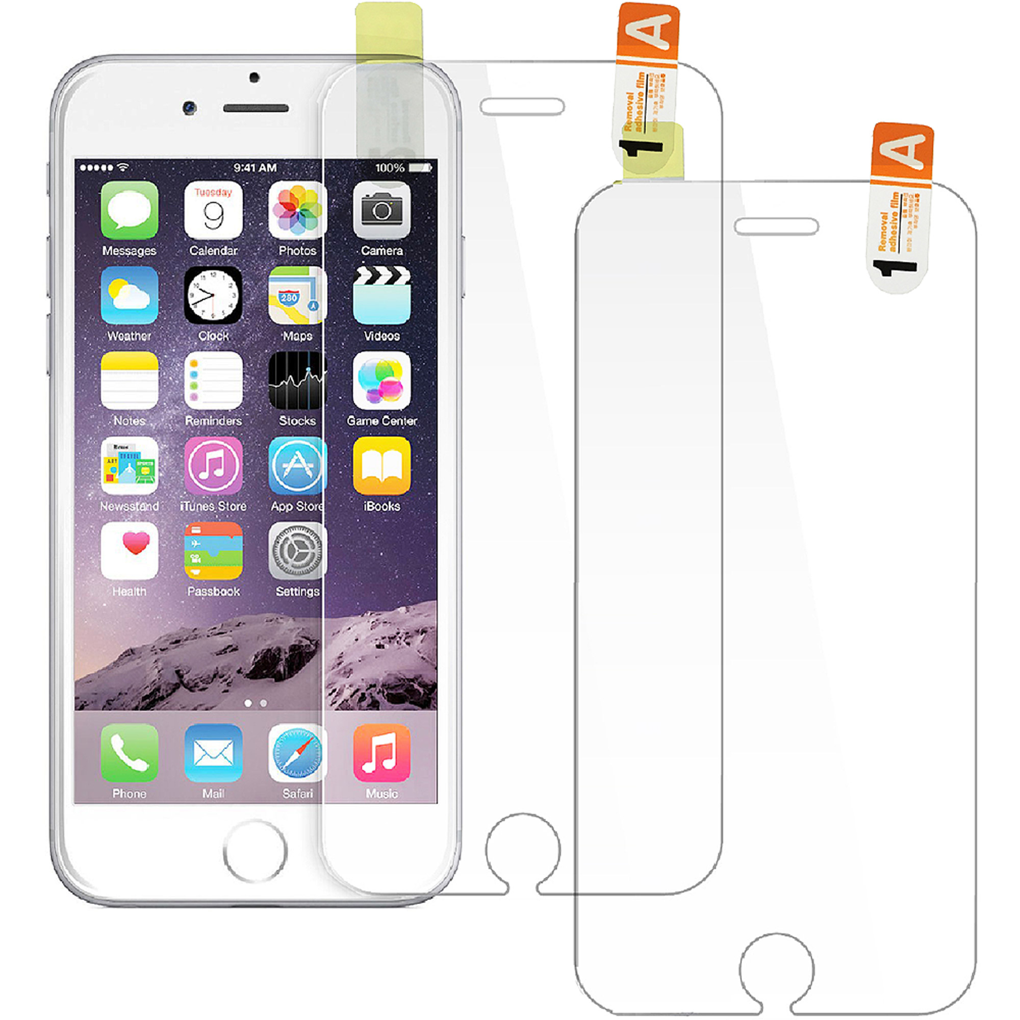 NIC Glasstic 6H High Hardness Bulletproof Screen Protector Film for Apple iPhone 6