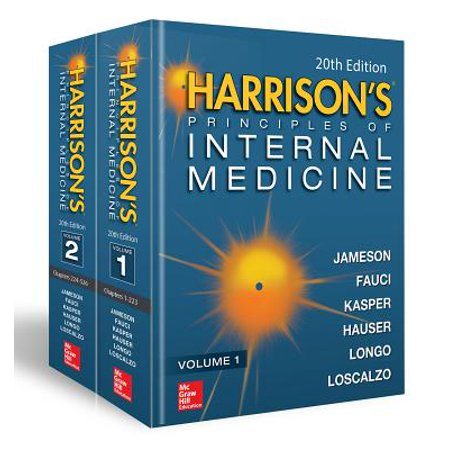 Harrison's Principles of Internal Medicine, Twentieth Edition (Vol.1 & Vol.2) - (The Language Of Medicine 8th Edition Ebook)