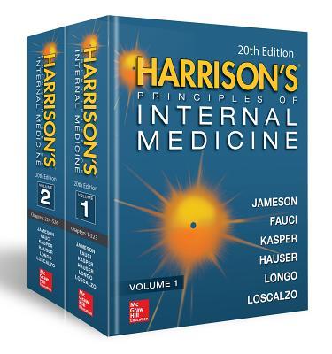 Harrison's Principles of Internal Medicine, Twentieth Edition (Vol.1 & Vol.2) - Hardcover