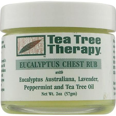 Tea Tree Therapy Eucalyptus Chest Rub, 2 Oz
