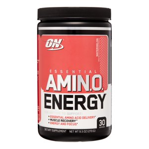 Optimum Nutrition Amino Energy Pre Workout + Essential Amino Acids Powder, Watermelon, 30 Servings