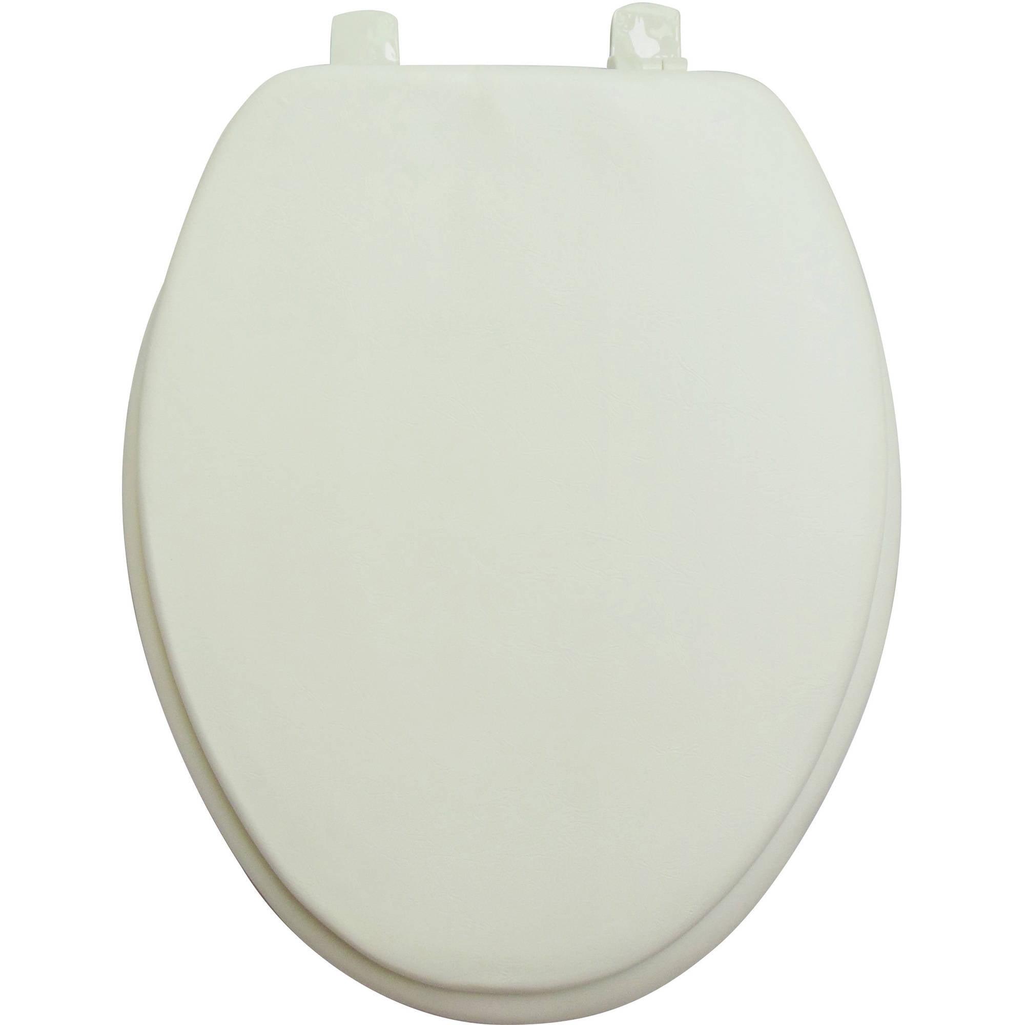 19  Elongated Soft Toilet SeatCushioned Toilet Seat   Walmart com. Toilet Seat 17 X 14. Home Design Ideas