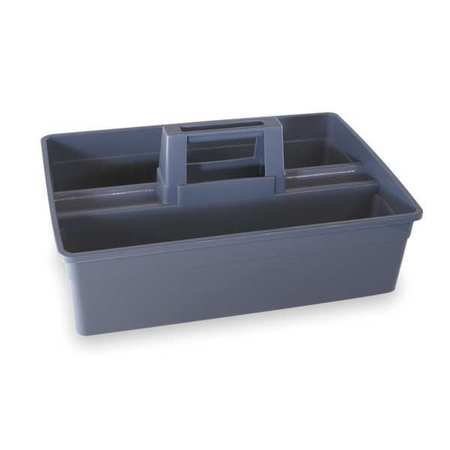 Tough Guy 2NXW4 Gray Plastic Carry Caddy