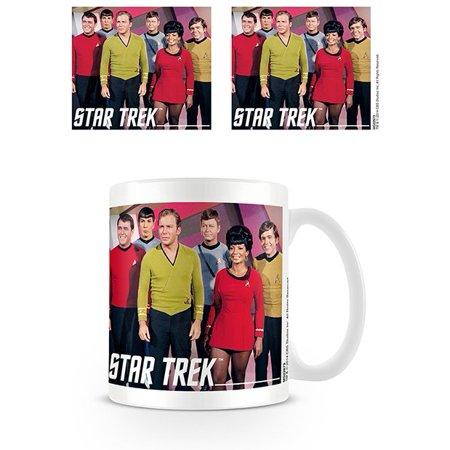 Star Trek - Ceramic Coffee Mug / Cup (The USS Enterprise (Star Trek Transporter Heat Changing Coffee Mug)