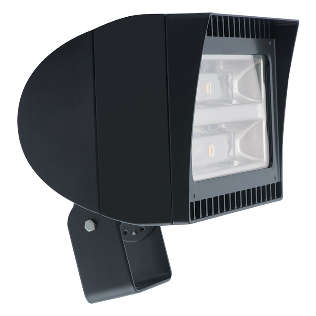 Rab Lighting 03149 - 78 watt 120/277 volt 5100K Bronze LED Flood with Trunion Bracket (FXLED78T)