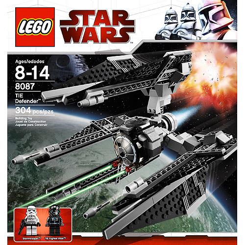 Star Wars The Clone Wars TIE Defender Set LEGO 8087