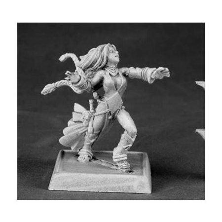 Reaper Seoni, Iconic Female Sorceress #60009 Pathfinder Miniatures Unpainted