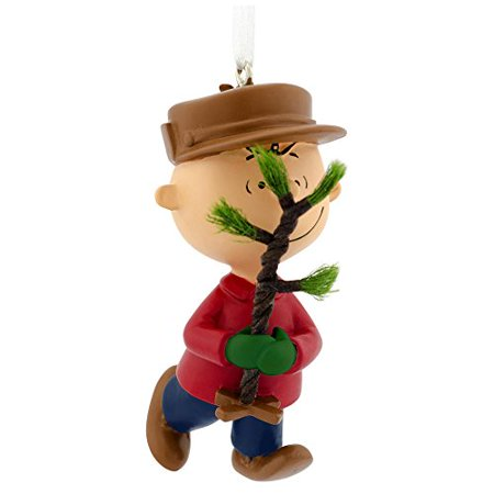 Hallmark Peanuts Charlie Brown Christmas Tree Ornament ()
