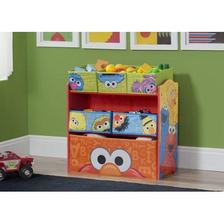 Sesame Street Multi-Bin Toy Organizer by Delta Children