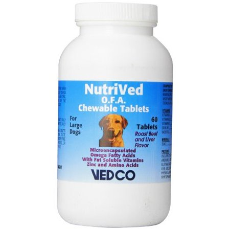 Nutrived Ofa Chewable Tablets For Large Dogs 60 Count