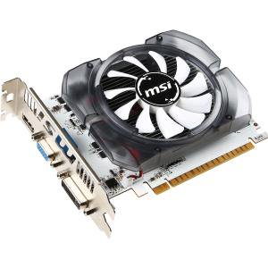MSI N730-2GD3V3 GeForce GT 730 Graphic Card - 700 MHz Core - 2 GB DDR3 SDRAM - PCI Express 2.0 x16 - 128 bit Bus Width - Fan Cooler -