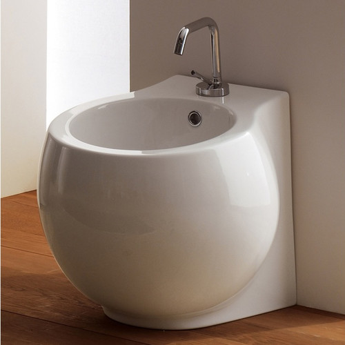 Scarabeo by Nameeks Planet 17.5'' Floor Mount Bidet
