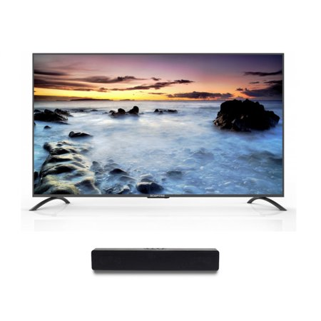 "Sceptre 75"" Class 4K (2160P) LED TV (U750CV-U) and Soundbar Bundle"
