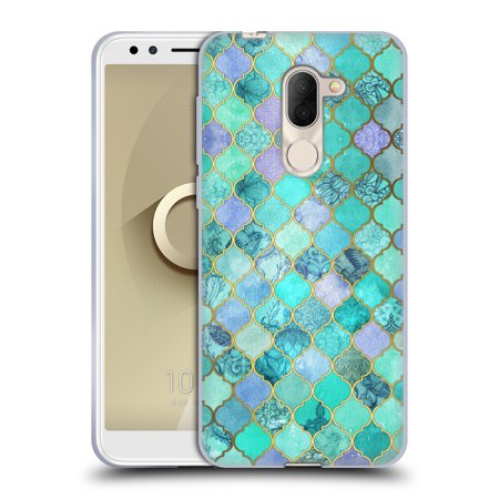 OFFICIAL MICKLYN LE FEUVRE MOROCCAN SOFT GEL CASE FOR ALCATEL PHONES