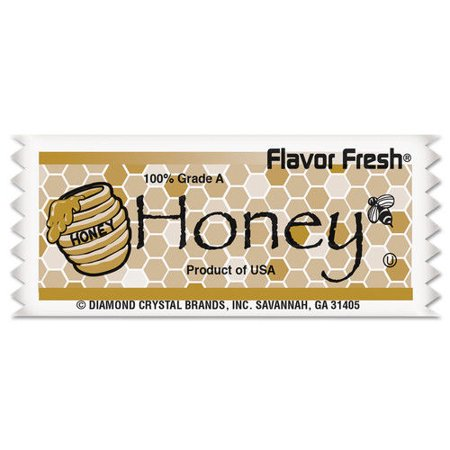 Diamond Crystal 79001 Flavor Fresh Honey Pouches, .317oz Packet, 200/Carton