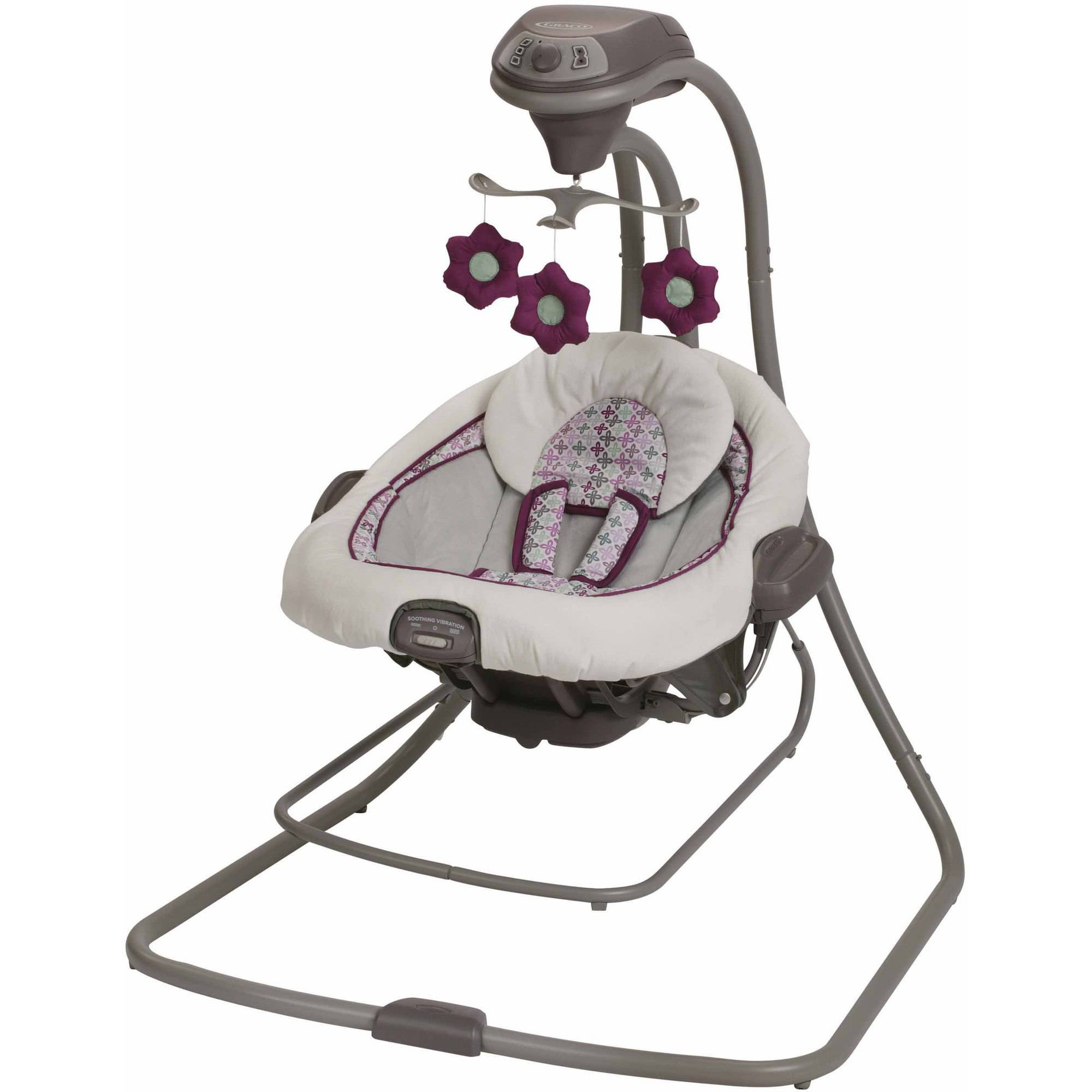 Graco DuetConnect LX Swing and Bouncer, Nyssa