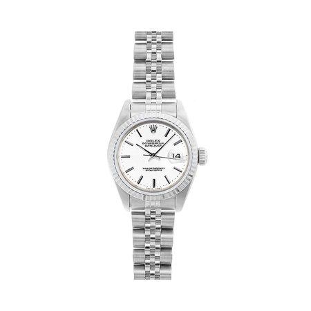 Pre-Owned Rolex Datejust 69174 Steel 26mm Women Watch (Certified Authentic & Warranty)