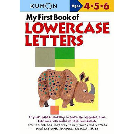 My First Book of Lowercase (Wipe Lowercase Letters)