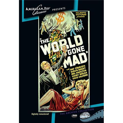 The World Gone Mad DVD Movie 1933