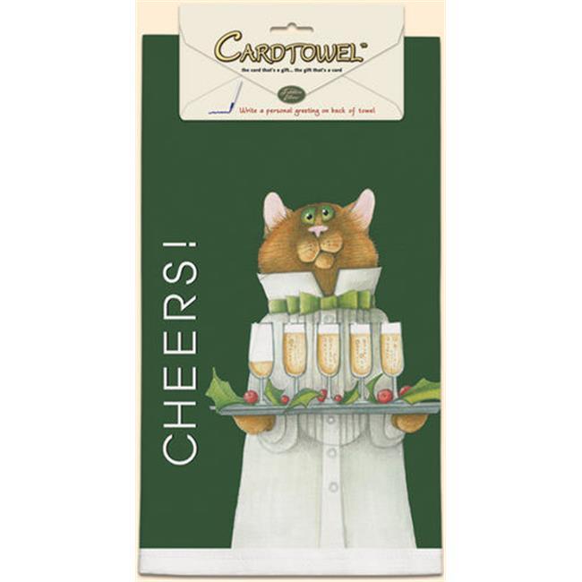 Fiddlers Elbow FEK841 32 x 21 Cotton Cheers Towel
