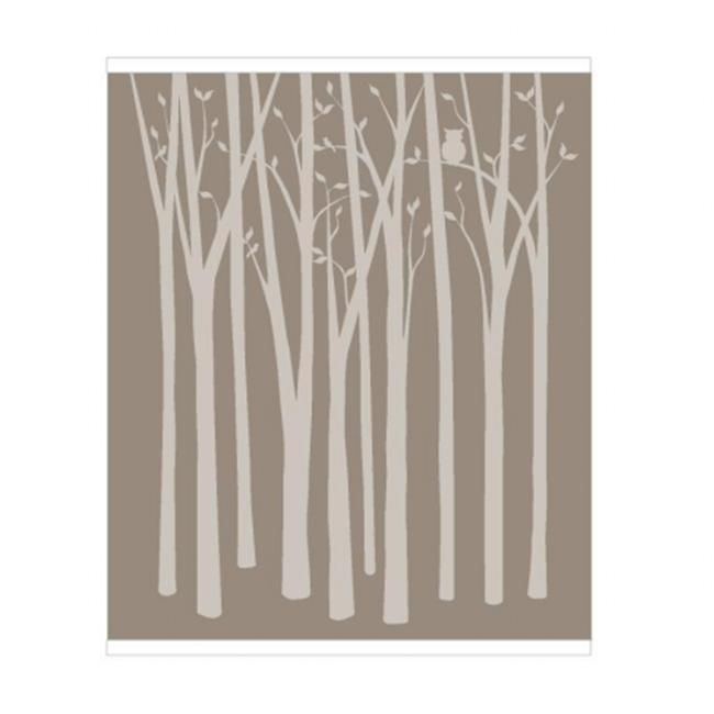 Elephants on the Wall 5-1397 Birch Tree Silhouettes - Paint It Yourself