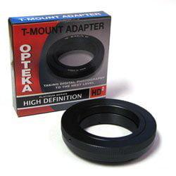 Opteka T-Mount Lens Adapter for Nikon 1 J2, J3, S1, V1, V2 Compact DSLR Mirrorless Cameras