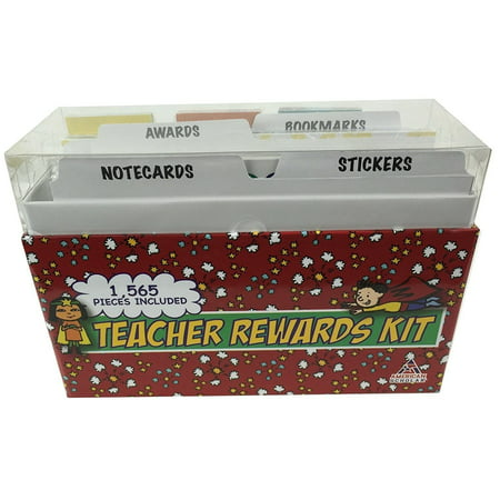 Teacher Rewards Kit, 60 Award Certificates, 300 Notecards, 20 Pages of 10 Stickers, and 75 Bookmarks! New in shrink wrap, don't wait until it is too late! By American Scholar](Certificate Of Award)