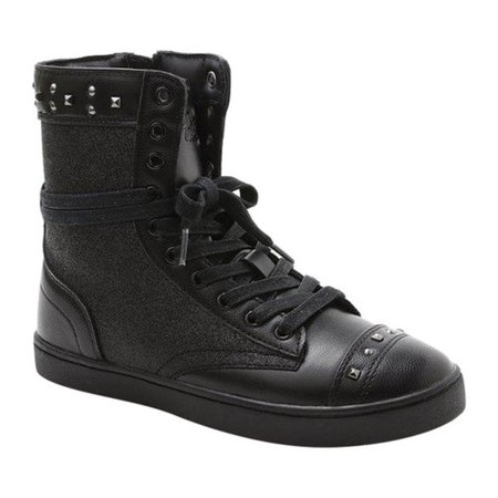 Women's Pastry Military Glitz High Top Sneaker - Pastry High Tops