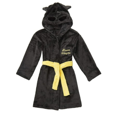 Batman Hooded Costume Robe (Toddler Boys) - Batman Robe