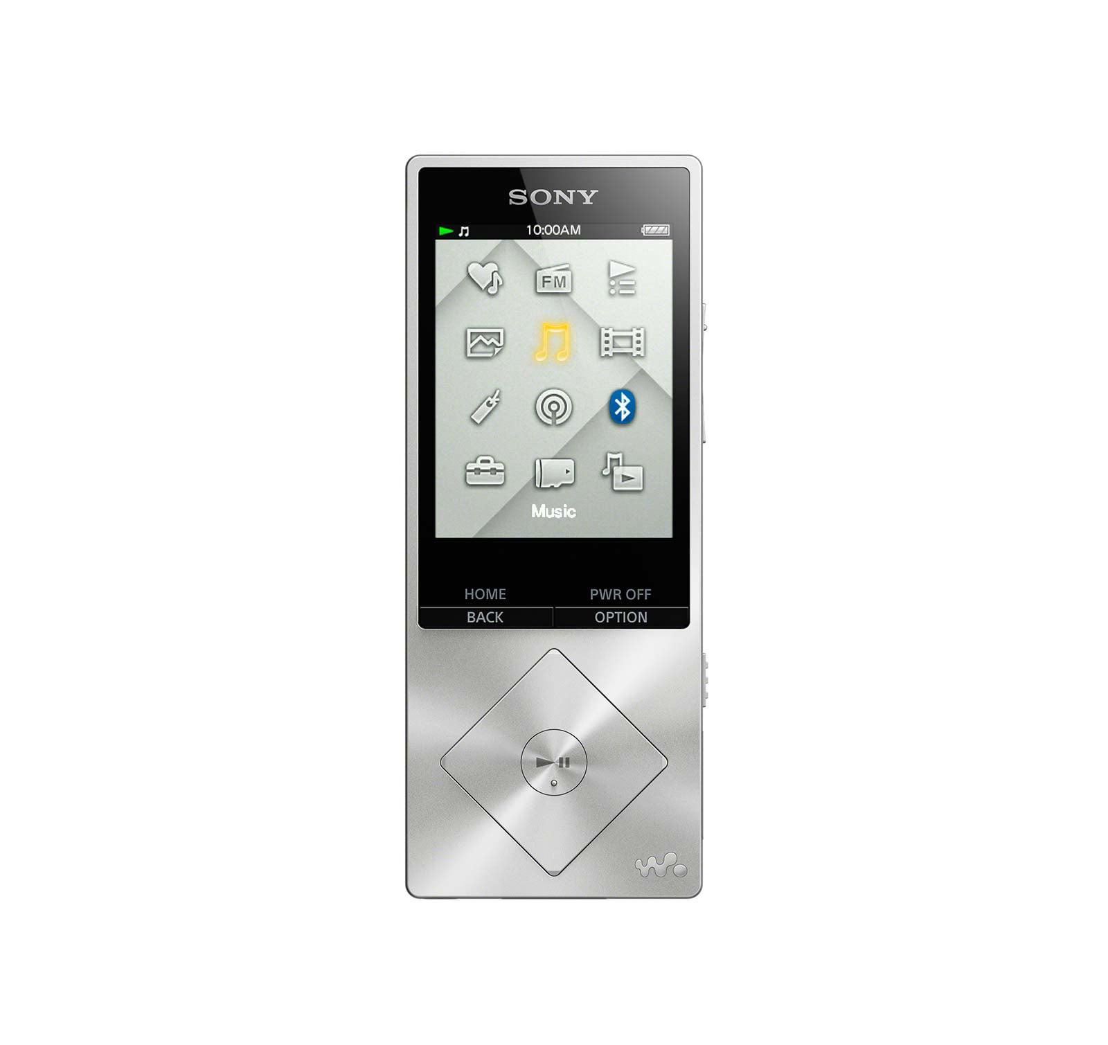 Sony NWZ-A17SLV Hi Res Portable Music Player 64GB
