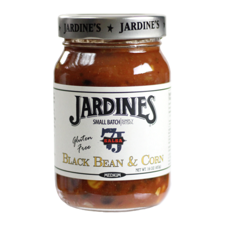 Jardine's Gluten Free Black Bean & Corn Medium Salsa, 16 oz