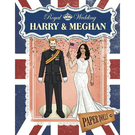 Cut Paper Dolls (Royal Wedding: Harry & Meghan Paper Dolls (Paperback) )
