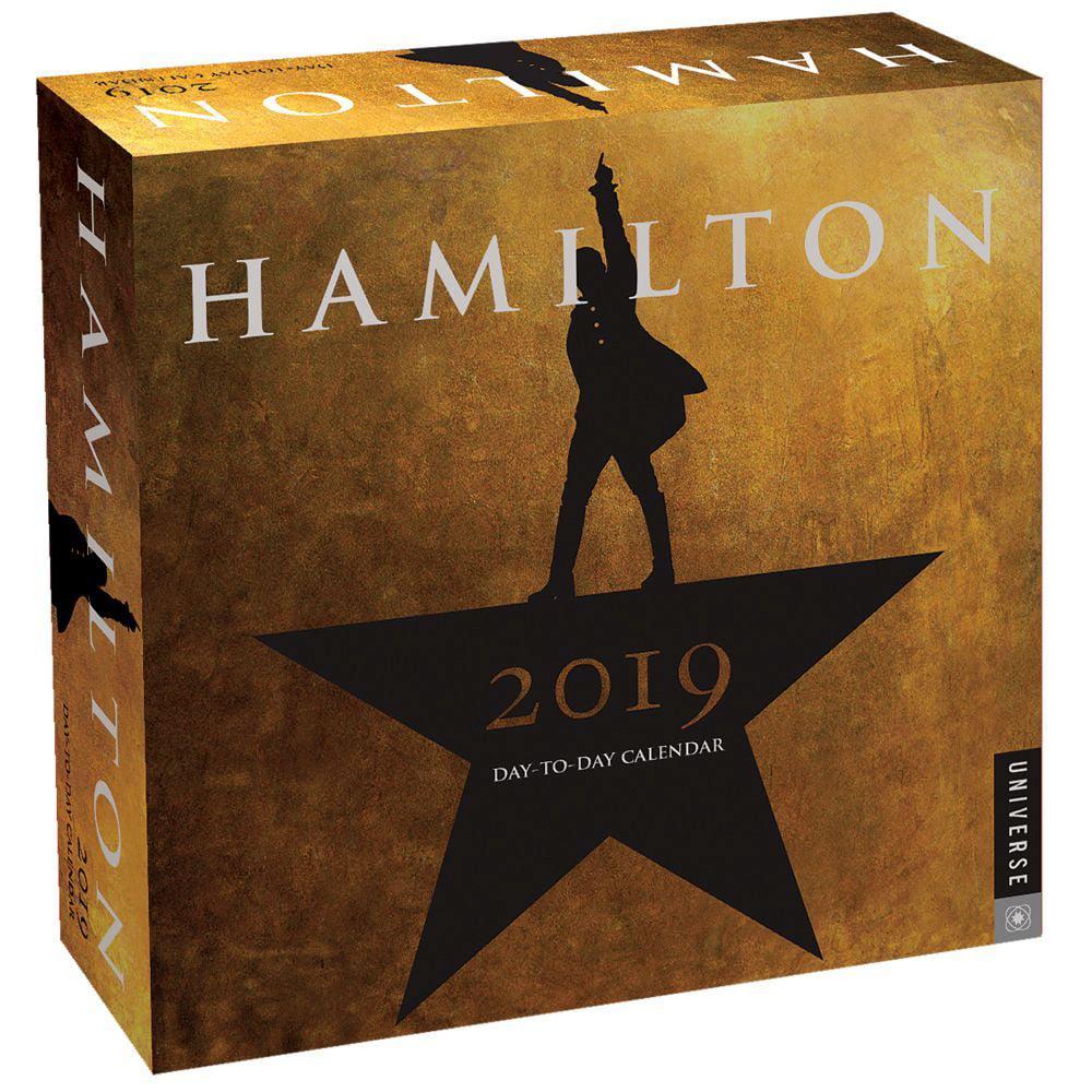 Hamilton 2019 Day-to-Day Calendar: An American Musical