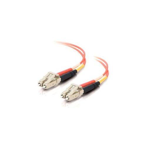 Cables To Go 33036 Duplex Fiber Patch Cable - 2 X Lc - 2 X Lc - 32.81ft - Orange
