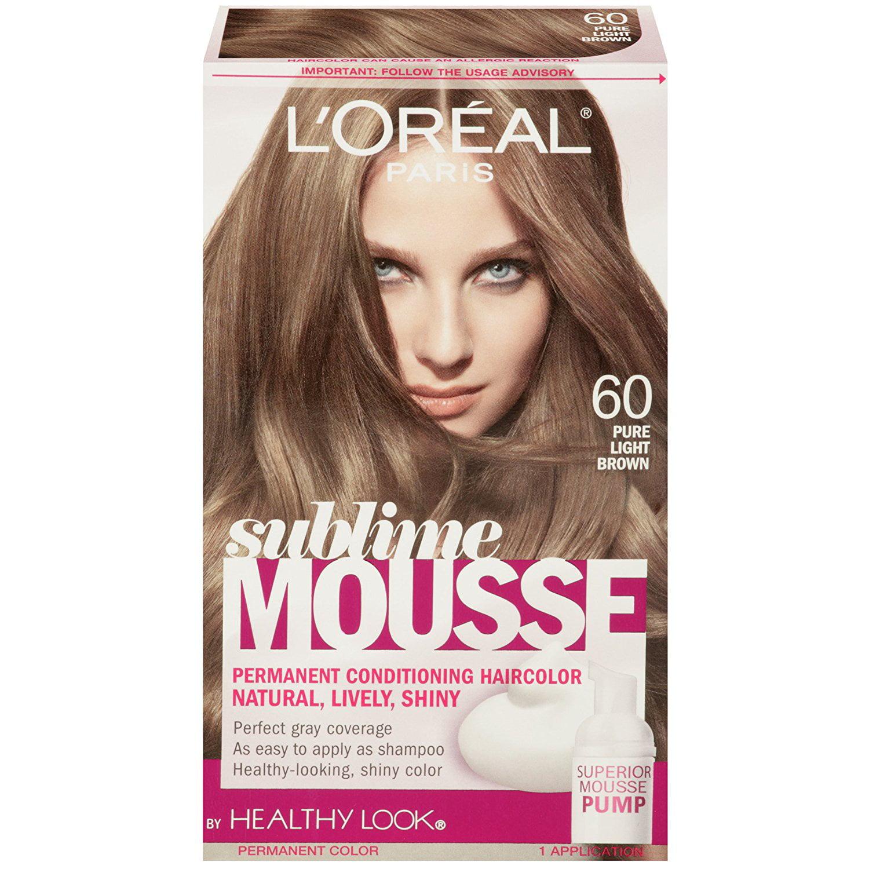 L Oreal Paris Sublime Mousse By Healthy Look Hair Color 60 Pure