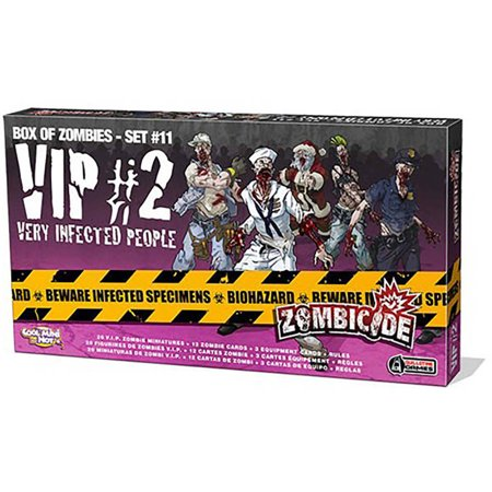 Zombicide Very Infected People 2 Board Game (Best Games For Two People)